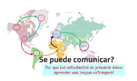 Se puede comunicar?