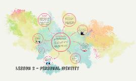 Personal Identity - L2