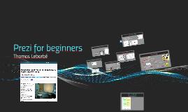 Prezi for beginners