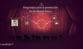 Programas para la promocion