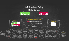 High School and College Myth-Busters