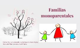 Familias monoparentales