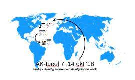 AK-tueel 7: 14 oktober '18