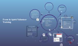 Event & Spirit Volunteer Training