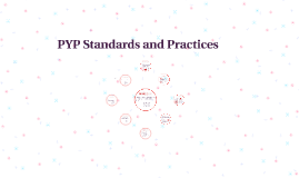 PYP Standards and Practices