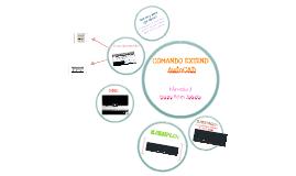 COMANDO EXTEND- AutoCad