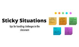 TA Training - Classroom Challenges