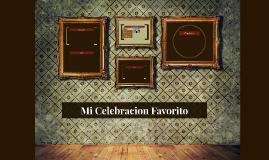 Mi Celebracion Favorito