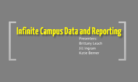 ICampus Data and Reporting