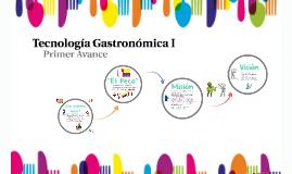 Teconología Gastronómica I