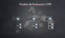 Modelo de Evaluación CIPP