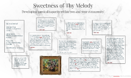 Sweetness of Thy Melody