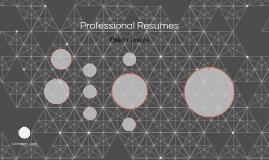 Professional Resumes