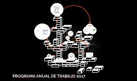 PROGRAMA ANUAL DE TRABAJO 2017
