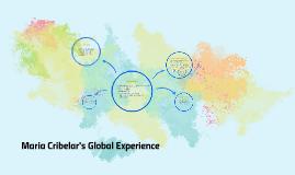 Maria Cribelar's Global Experience