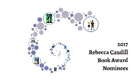 2017 Rebecca Caudill Book Award Nominees