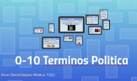 0-10 Terminos Politica