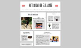 Copy of MOTRICIDAD EN EL KARATE