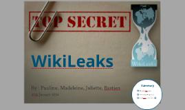 Exposé Wikileaks (ESJ)