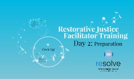 RJF Training Day 2