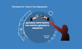 Деловые переговоры как форма делового общения