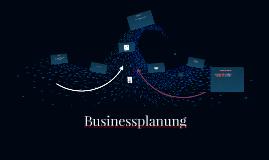Businessplanung