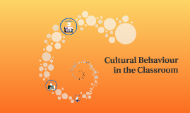 Cultural Behaviour in the Classroom