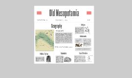 Old Mesopotamia