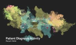 Patient Diagnosis Activity