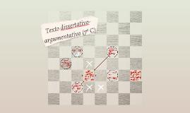 Texto dissertativo-argumentativo (7º C)