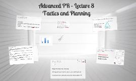 Advanced PR - Lecture 8
