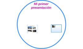 Mi primer presentación
