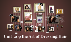 Unit  209 the Art of Dressing Hair