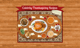 Copy of Celebrity Thanksgiving Prezipes!