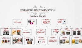 Copy of SINTAXE DA LINGUAGEM VISUAL