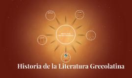 Representantes de la Literatura Grecolatina