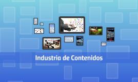 Industria de Contenidos