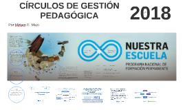 CÍRCULO DE GESTIÓN PEDAGÓGICA