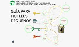 Guía para hoteles pequeños