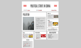 POLITICAL STRIFE IN CHINA