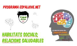 HABILITATS SOCIALS I RELACIONS DE PARELLA 2016