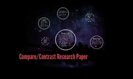 Compare/Contrast Research Paper