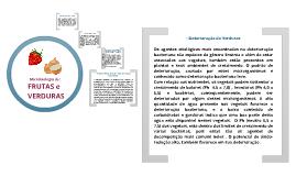 Copy of Microbiologia de FRUTAS E VERDURAS