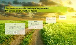 The Transcendentalist Society of Earth