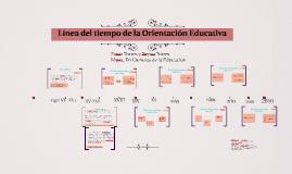 Copy of Línea del tiempo de la Orientación Educativa