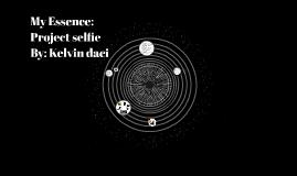 My Essence: Project selfie