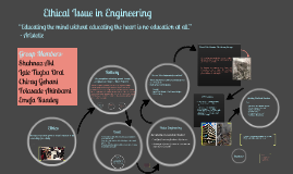 Project Managment- Ethical Issues in Engineering
