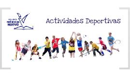 Actividades deportivas Colegio México Nuevo