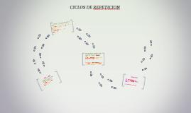 CICLOS DE REPETICION