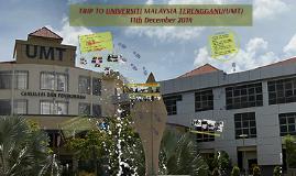 TRIP TO UNIVERSITI MALAYSIA TERENGGANU(UMT)